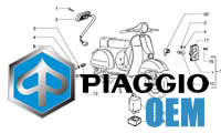 Piaggio OEM Teile Beverly 250ie MIC ZAPM288