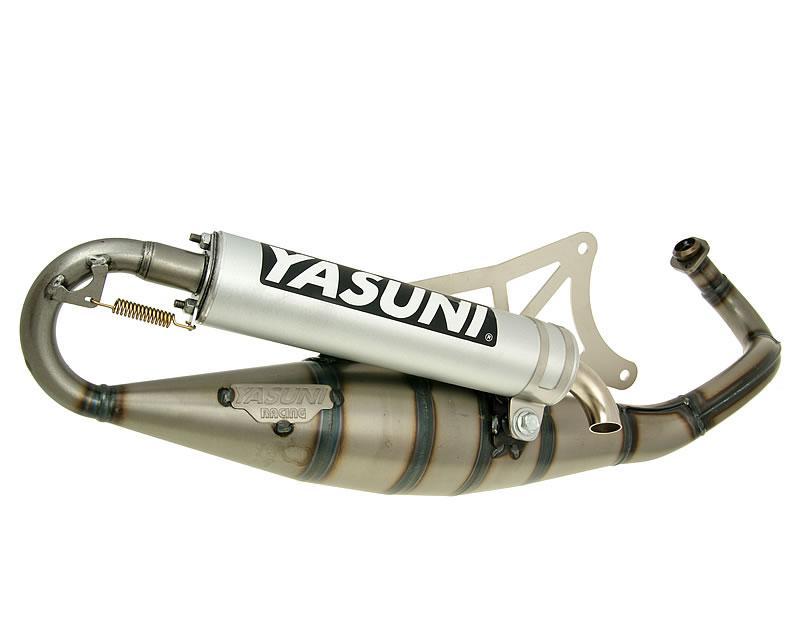 Auspuff Yasuni Scooter R Aluminium f/ür Piaggio