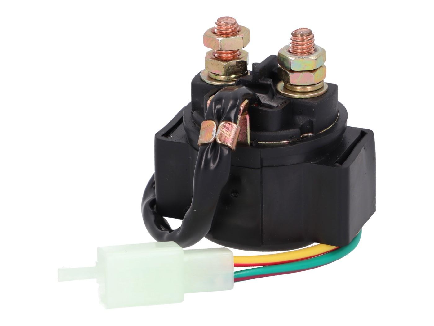 Anlasser Magnetschalter 12V universal f/ür Kymco CK1 125 KT25AA