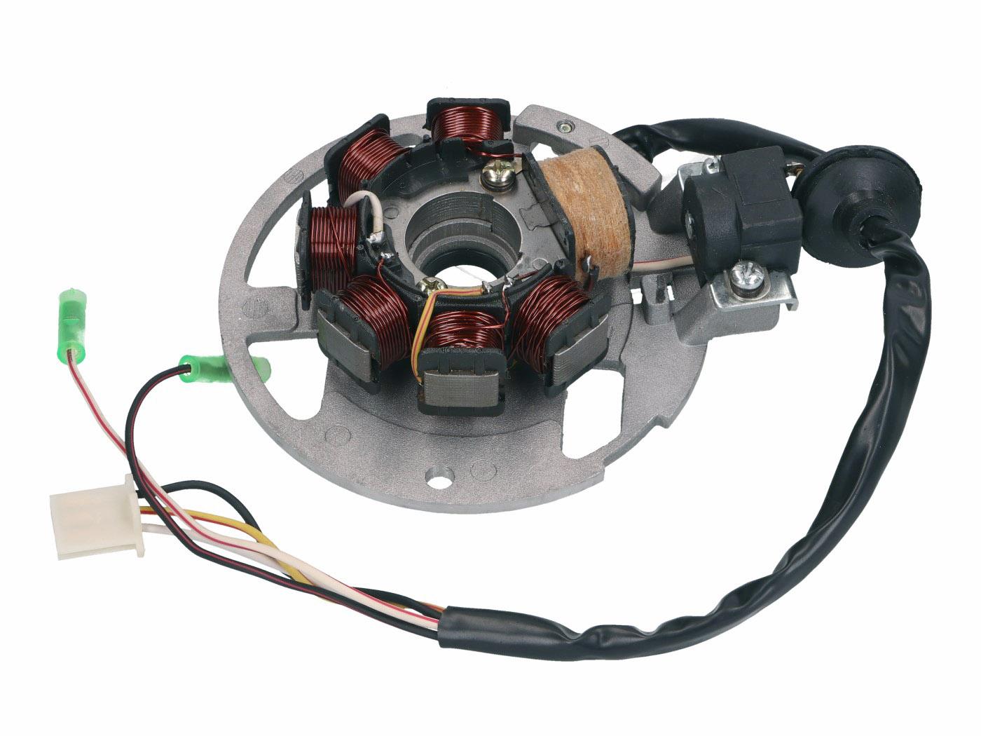 Lichtmaschine Stator Version 1 f/ür Keeway SWAN 50 2009
