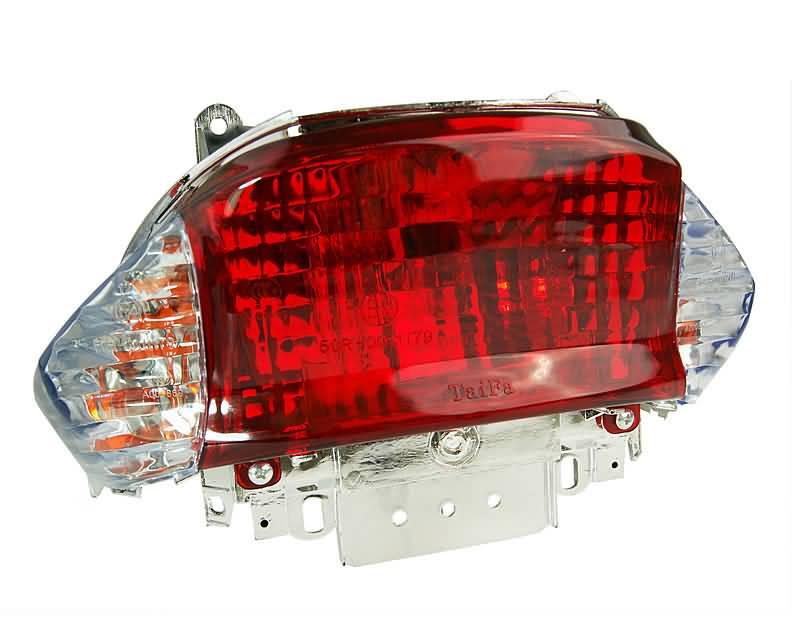 Rear Left Indicator Lens Cover Clear for Baotian BT50QT-9