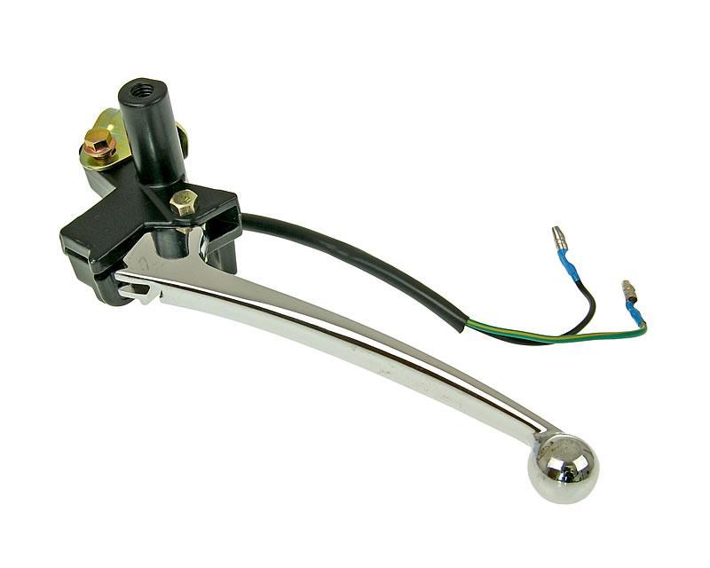 Bremsarmatur links mit Bremshebel für GY6 125150ccm mit Trommelbremse