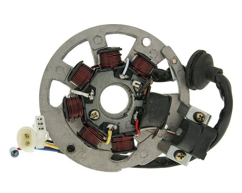 Lichtmaschine Stator Version 2 f/ür Keeway RY8 50 Racing