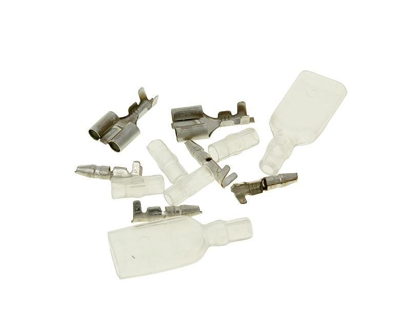 Stecker Satz Kabelverbinder / Kabelschuh Set 12-teilig
