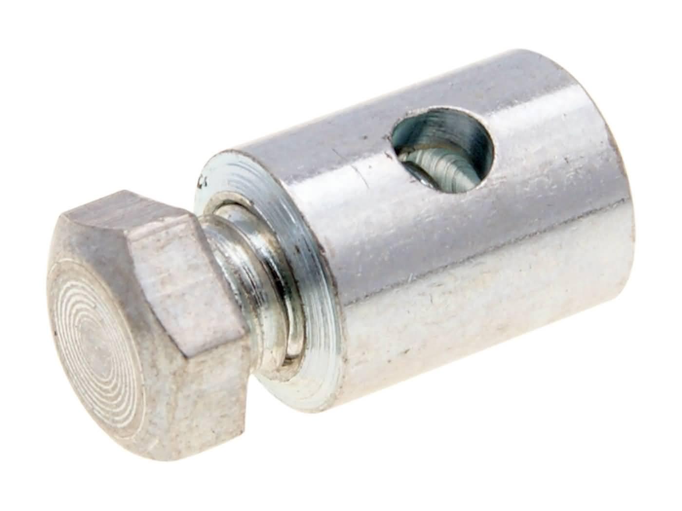 Schraubnippel f/ür Seilzug 6,0x14,0mm