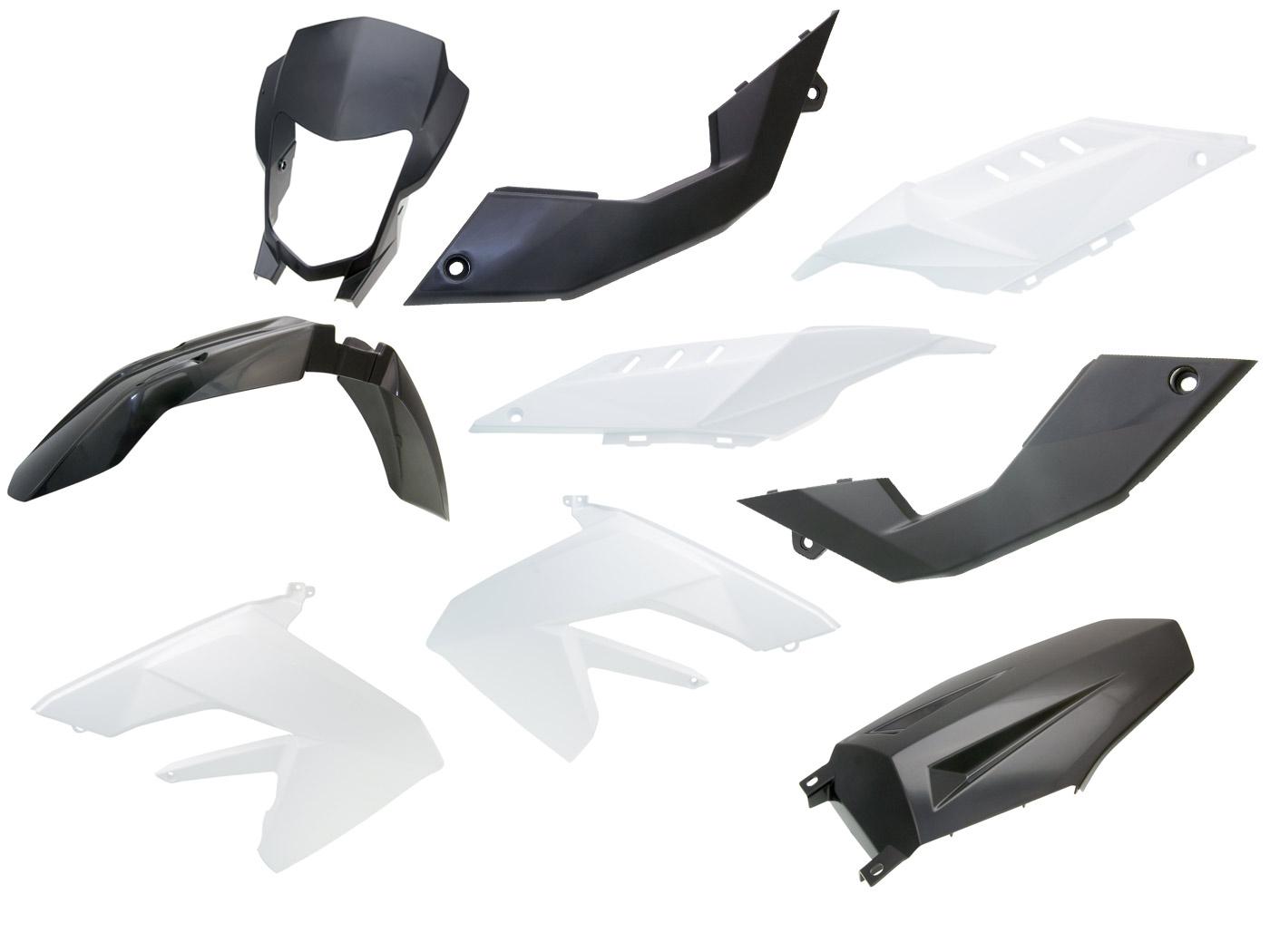 fairing parts OEM for Aprilia RX 50 06-10 (D50B) ZD4PVA