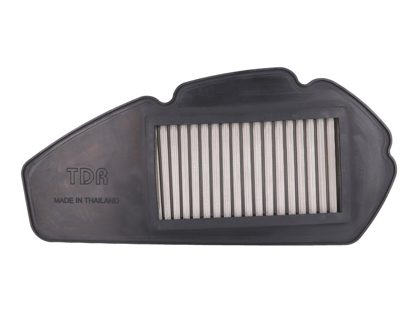 Luftfilter Einsatz TDR High Performance Edelstahl für Yamaha Aerox 155