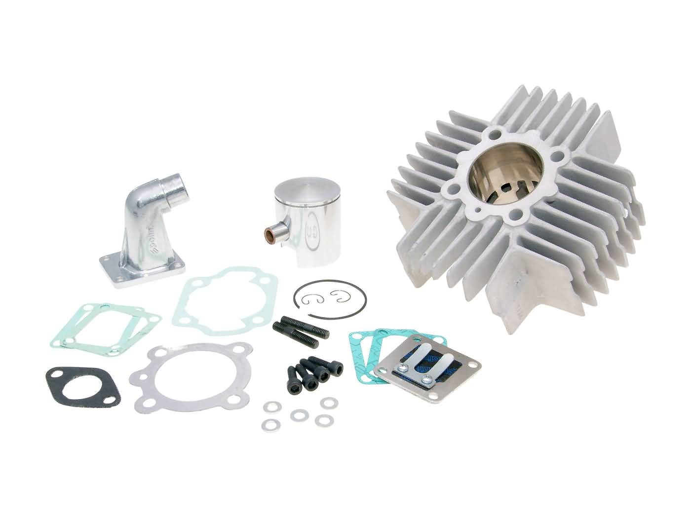 cylinder kit Polini aluminum sport 65cc 43 5mm for Puch Maxi
