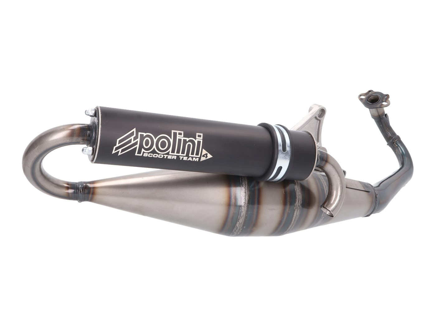 Sports Exhaust Complete Piaggio Zip 50 2T Front Drum A//C 1992 to 1996