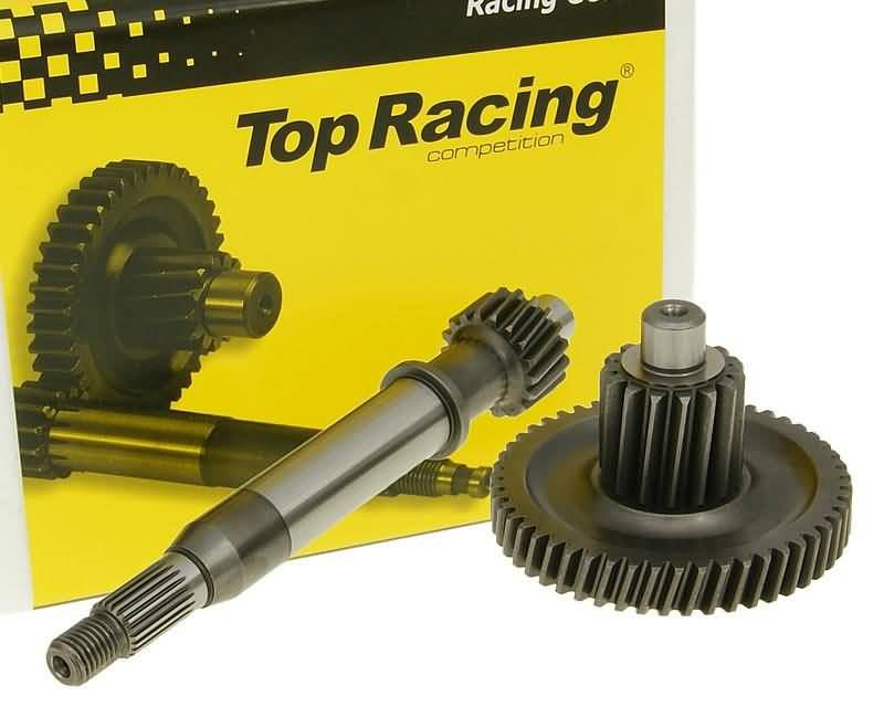 primary transmission gear up kit Top Racing +17% 18/50 for