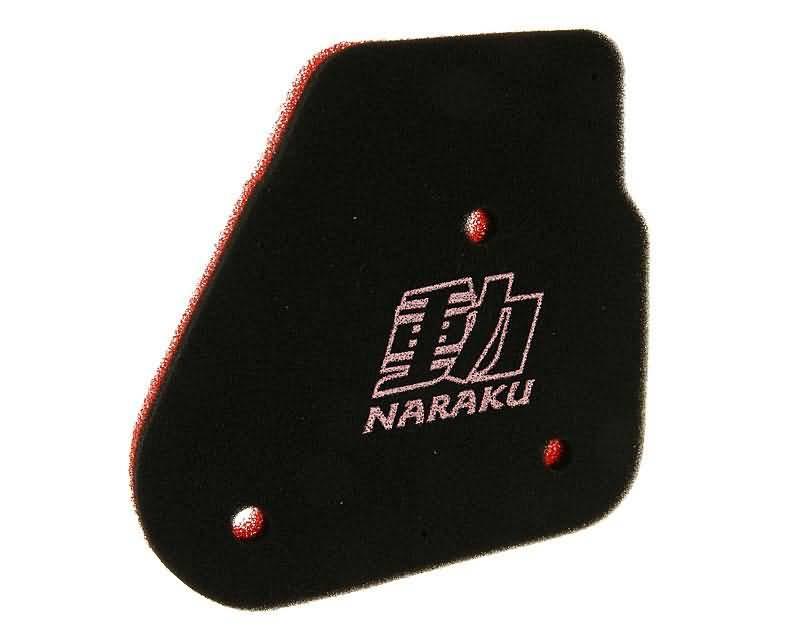 Luftfilter Einsatz Naraku Double Layer für Minarelli liegend