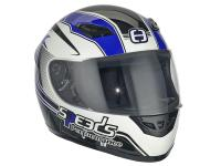 Helm Speeds Integral Performance II Racing Graphic blau Größe XL (61-62cm)
