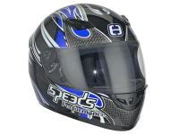 Helm Speeds Integral Performance II Tribal Graphic blau