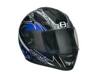 Helm Speeds Integral Race Graphic blau