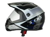 Helm Speeds Cross X-Street Graphic blau