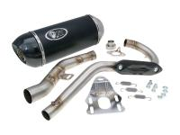 Auspuff Turbo Kit Off Road 125 Oval H2 für Rieju Marathon Pro 125