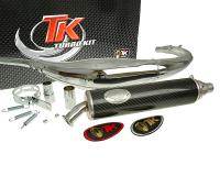 Auspuff Turbo Kit Road RQ Chrom für Motorhispania RX50 (-07), Peugeot XR6