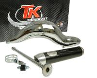 Auspuff Turbo Kit Road RQ Chrom für Aprilia RS50 (06-)