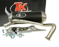 Auspuff Turbo Kit GMax 4T für Kymco Dink, Yager, Spacer 125, 150