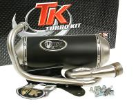 Auspuff Turbo Kit GMax 4T für Piaggio Zip 50 4T, Derbi 4T 2V