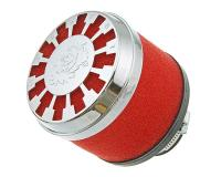Luftfilter Malossi Red Filter E13 32 / 38mm gerade rot-Chrom