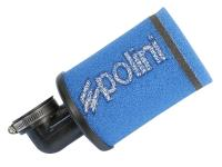 Luftfilter Polini Evolution 38mm 90° blau