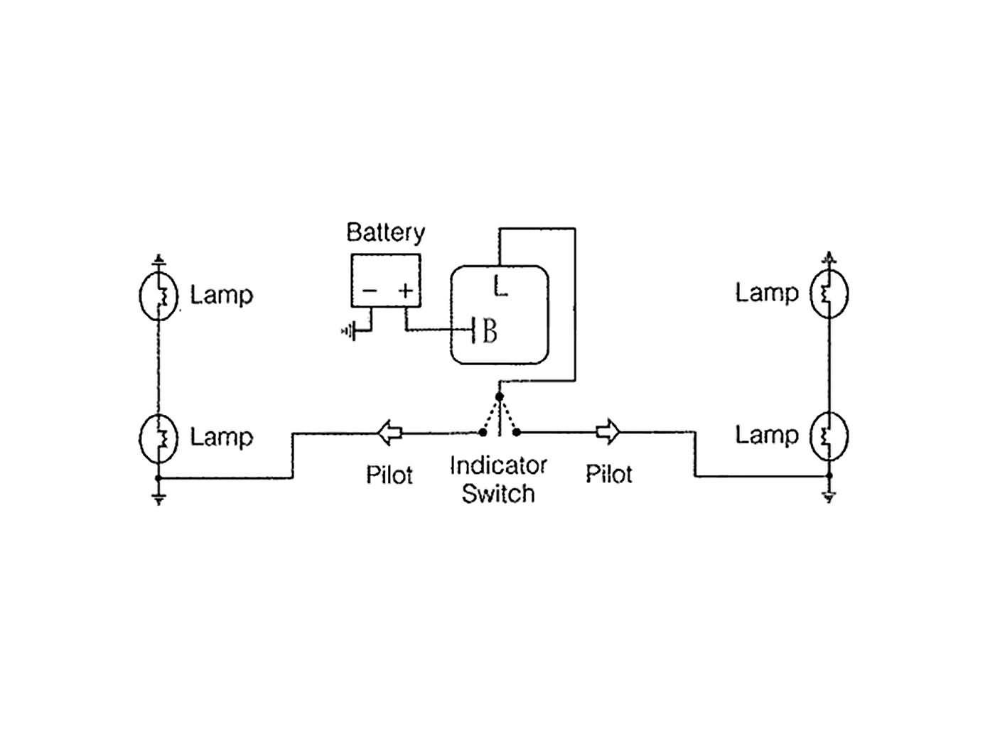 50 CC Indicator Relay Yamaha MS 50 1986