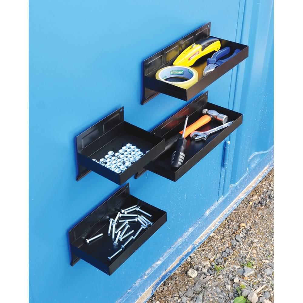 aufbewahrungsschalen stahl magnetisch 4 teilig. Black Bedroom Furniture Sets. Home Design Ideas