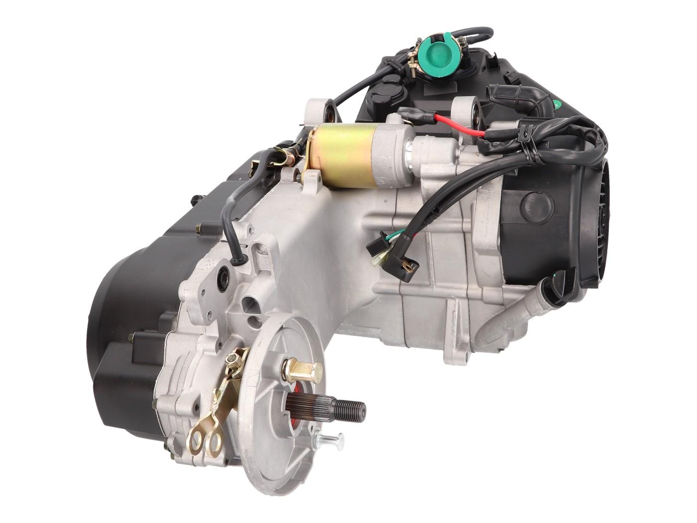 Motor kurz 743mm für GY6 125ccm 152QMI für Trommelbremse