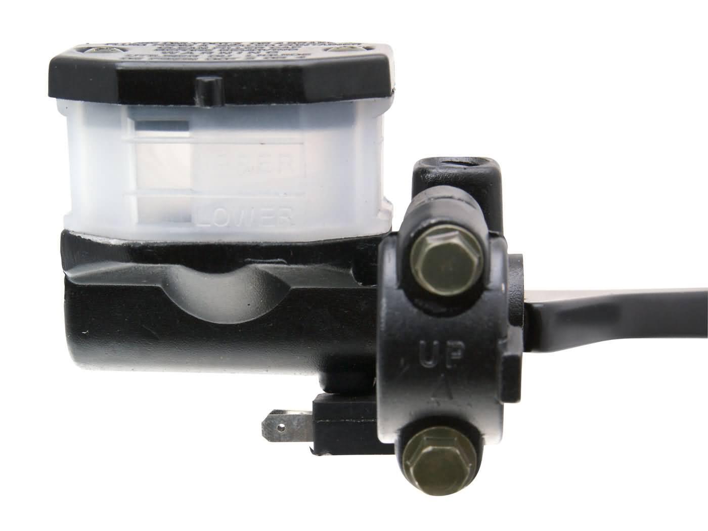 Bremspumpe Bremszylinder mit Handbremshebel vorn mit M10 Spiegelaufnahme brake