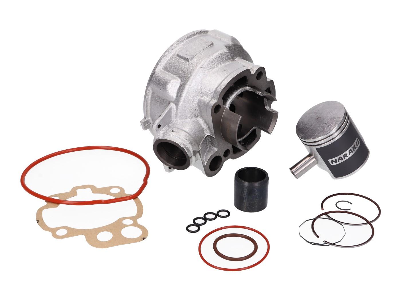 Yamaha TZR 50 AM6 post 2003 AM6 70cc Cylinder Gasket Piston Kit