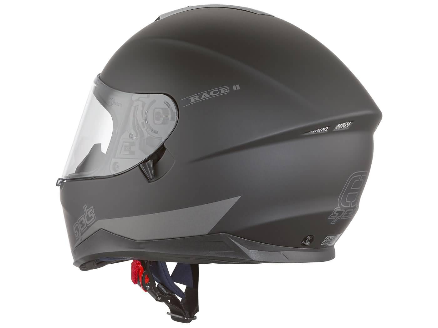 helm speeds integral race ii schwarz matt. Black Bedroom Furniture Sets. Home Design Ideas