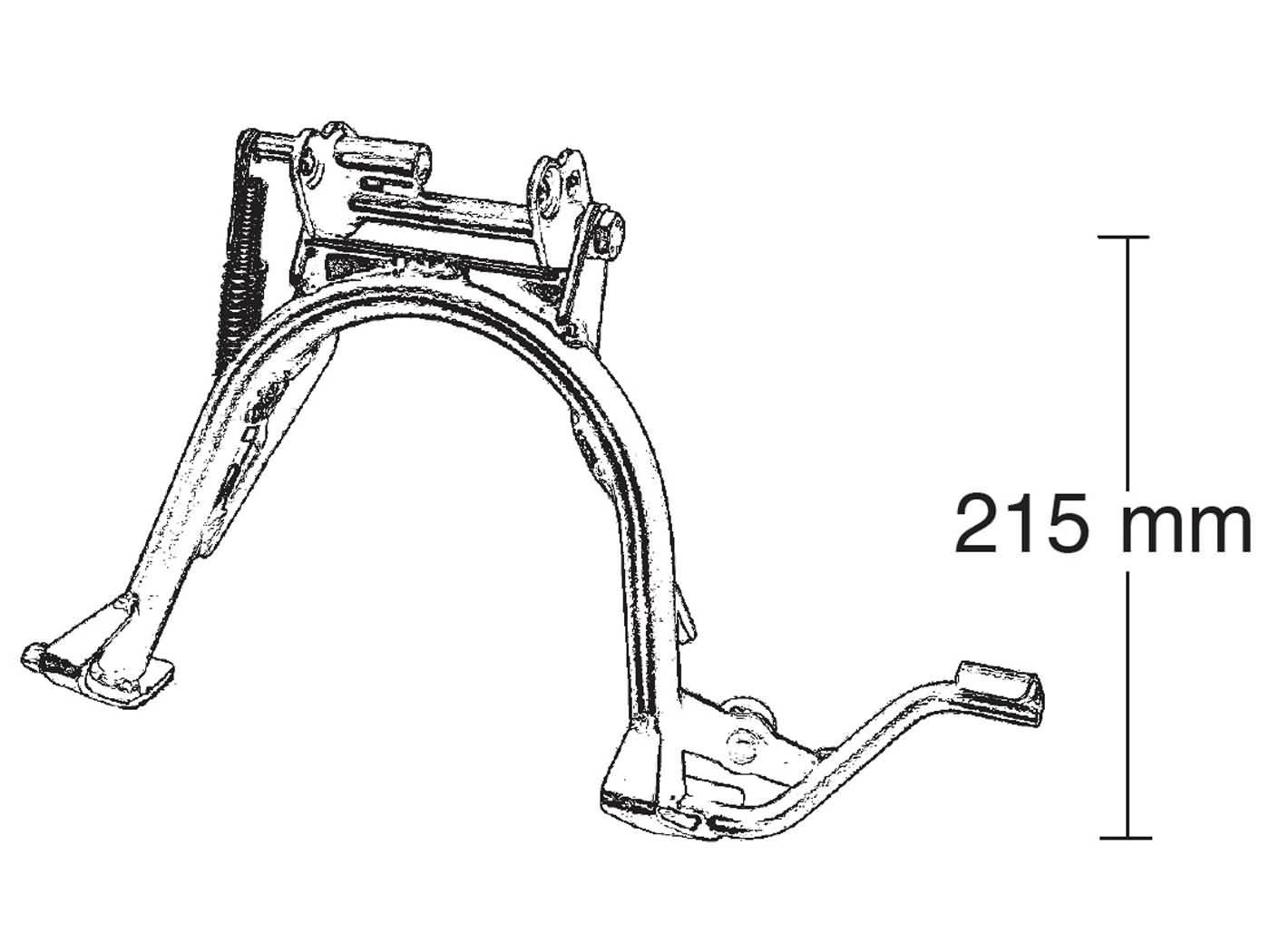 Hauptst/änder Mittelst/änder St/änder Yamaha YBR 125