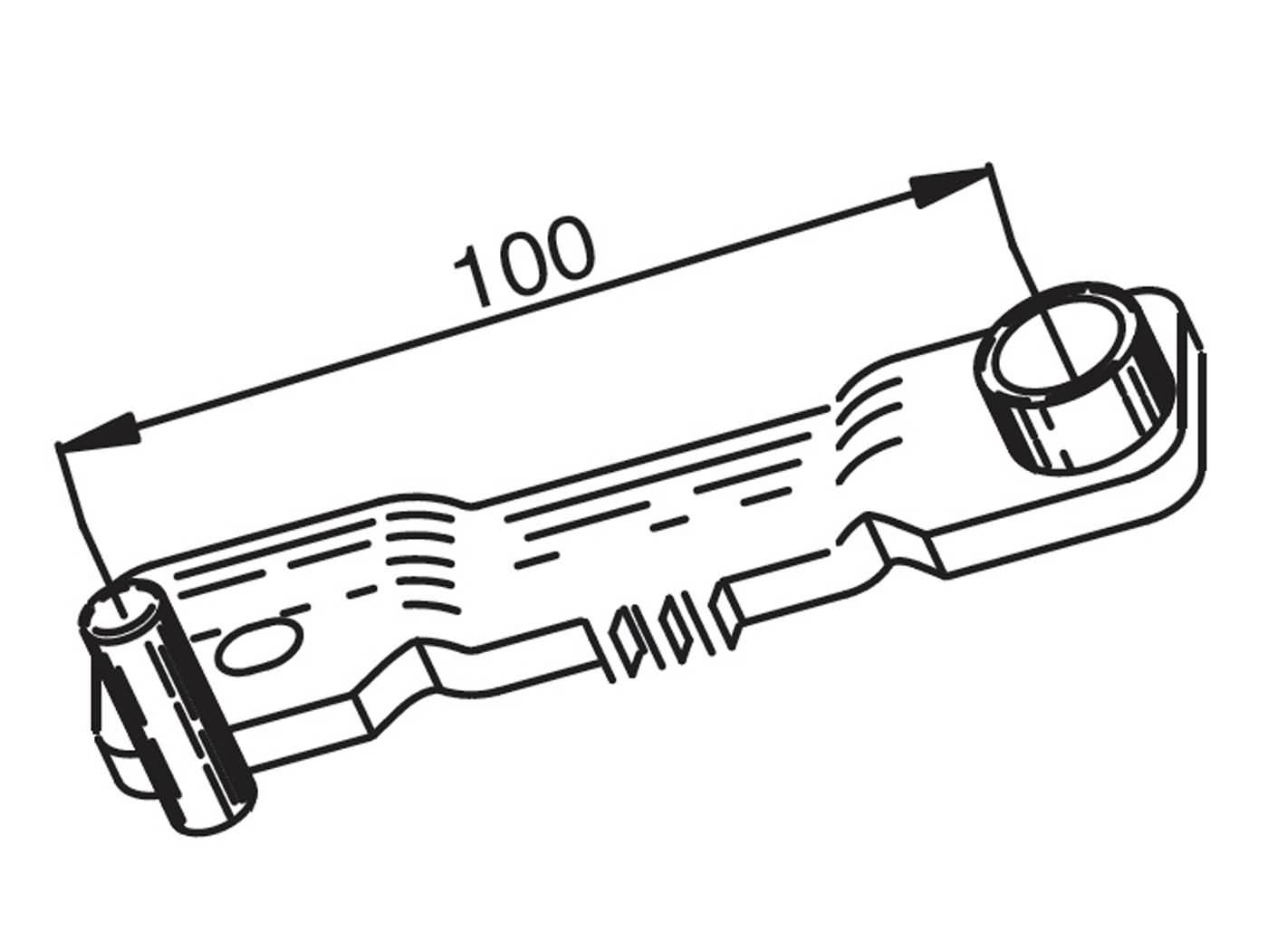 Variomatik Blockierwerkzeug 125-150cc Piaggio 4T
