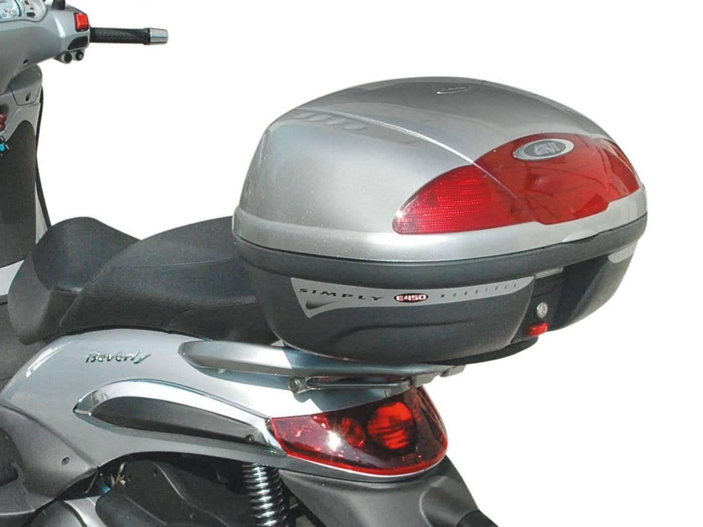Top Case Träger GiVi Monolock für Piaggio Beverly 125-350ie