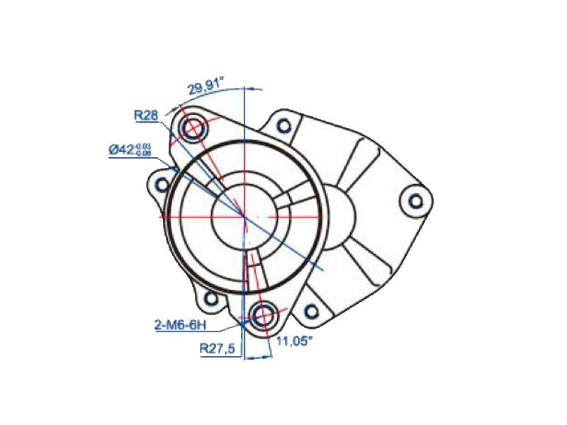 Starter Motor For Minarelli Am Generic Ksr Moto Keeway Motobi Ride